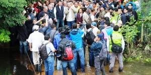 Autoridades de Tabasco solicitan a la federación obras definitivas para solucionar inundaciones