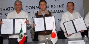 Gobierno de Chiapas y Embajada de Japón inician proyectos sociales en favor de las y los chiapanecos