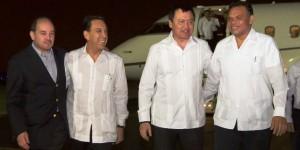 Llega secretario de Gobernación a Yucatán a la plenaria de Senadores