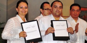 Gobierno de Quintana Roo y CDI firman convenio para incrementar la infraestructura en comunidades Mayas