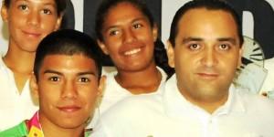 El gobernador desea éxito al púgil Quintanarroense Joselito Velázquez en el serial mundial de boxeo en Rusia