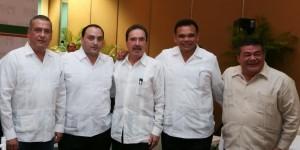 Asiste el gobernador Roberto Borge a la reunión Plenaria de senadores del PRI y PVEM