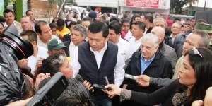 Los tres órdenes de gobierno trabajaremos por Tabasco: Osorio Chong