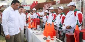 Gobiernos estatal y federal invirtieron 176 millones de pesos en apoyo al deporte yucateco