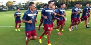 Listo el Atlante para recibir este domingo a las Chivas en el estadio Andrés Quintana Roo