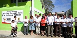 Inauguran en Yucatán nuevo edificio del Centro de Formación Básica y Sensibilización Artística