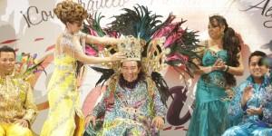 Chico Samba I, nuevo Rey del Carnaval Veracruz 2014