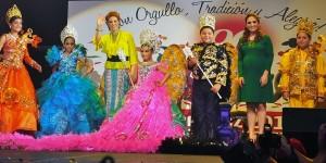 Corona Karime Macías a Reyes Infantiles del Carnaval de Veracruz 2014