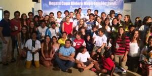 Clausuran regata copa Rivera Maya