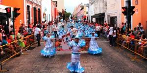 Pequeños de preescolar dan inicio a las fiestas carnestolendas de Mérida