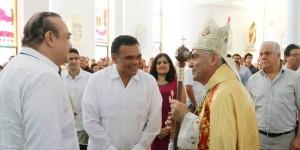 Asiste el Gobernador de Yucatán a reunión con comunidad libanesa
