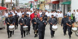 Conmemora Ayuntamiento de Paraíso 101 aniversario de la Marcha de la Lealtad