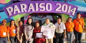 Culmina Carnaval Paraíso 2014 con  saldo blanco y excelentes premios