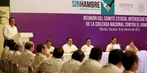 Elogia la titular de SEDESOL federal trabajo realizado en Yucatán
