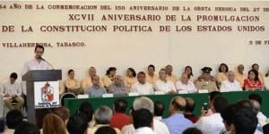 Gobierno de Tabasco avanza en un proceso reformista: Peralta Rodríguez
