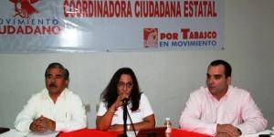 Solicita Movimiento Ciudadano en Tabasco distribuir regidurías equitativas