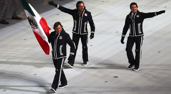 Mexico juegos olimpico rusia 2014