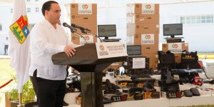 Invierte gobierno de Quintana Roo más de 27 millones de pesos en equipos para la policía ministerial