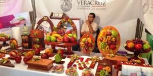 Participan 80 productores veracruzanos en el Mercado Próspero Adelante en Tlacotalpan