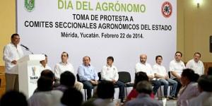 Conmemoran gobierno de Yucatán Día del Agrónomo