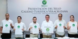Anuncia SECTUR, Sello de Calidad Veracruzana a más de 500 empresas