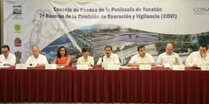 Quintana Roo asiste al Consejo de Cuenca de la Península de Yucatán