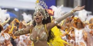 Inicio Carnaval de Sao Paulo Brasil 2014