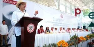 Gobierno del Estado, comprometido con los campesinos veracruzanos: SEGOB