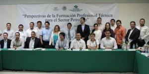 Se reúnen autoridades nacionales y estatales del Conalep en Veracruz