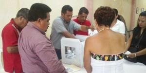 Vota más del 86 por ciento de priístas en cinco municipios de Tabasco donde eligieron dirigentes
