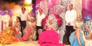 Coronan a Reyes del Carnaval Coatza 2014