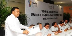 Anuncia Gobierno de Yucatán mayor impulso al desarrollo rural sustentable