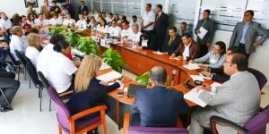 Se reúne el gobernador Javier Duarte de Ochoa con integrantes del Colectivo por la Paz