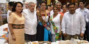 Visita el gobernador a los municipios de Balancán y Tenosique en la Feria 2014