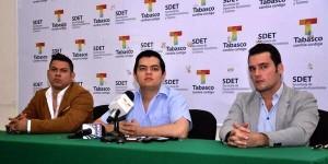 Cantarán Jairo Ávalos y Ricardo Corona durante Imposición de Bandas Feria  Tabasco 2014: SDET