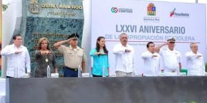 Conmemora Gobierno de Quintana Roo el 76 Aniversario de la Expropiación Petrolera