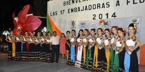 Promocionan embajadoras Feria Tabasco 2014 en Los Ríos