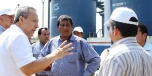 Garantiza Bertruy suministro de agua a Centro por pronta sequía