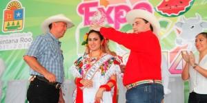 """Inaugura el gobernador Roberto Borge la XXXVI Edición de la Feria Primavera """"EXPOMOR 2014"""""""