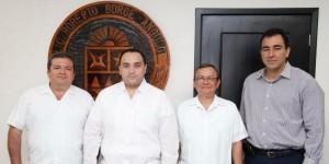 Nombra el gobernador a Andrés Ruiz Morcillo Director general del CONALEP Quintana Roo