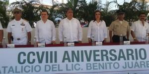 Vigente el Legado de Benito Juárez en Quintana Roo
