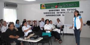 Imparte SESA curso de actualización sobre Tuberculosis Pulmonar en Quintana Roo