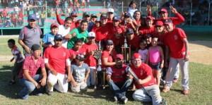 Tigres de Madero campeón de beisbol municipal de Paraíso