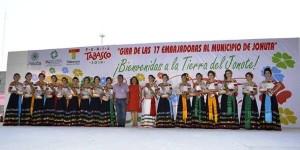 Embajadoras visitan Macuspana y Jonuta Feria Tabasco 2014 ¡Lo Mejor del Edén!