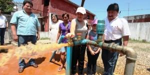 Gobierno de Teapa brinda mantenimiento a Pozo Profundo que abastece de agua a las colonias