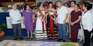 Visita el gobernador Centro y Diario de la Tarde en la Feria Tabasco 2014