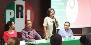 Es el debate fundamental para defender plataforma política del PRI: Gloria Herrera