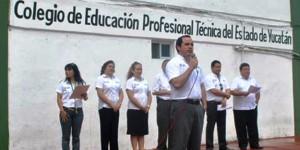 Realiza CONALEP Yucatán Expo Profesiones 2014