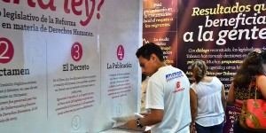 Stand del Congreso local, atractivo para los visitantes a la Feria Tabasco 2014