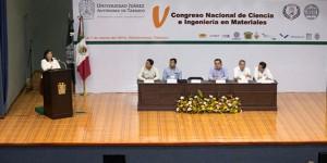 Realizan en la UJAT el V Congreso Nacional de Ciencia e Ingeniería en Materiales